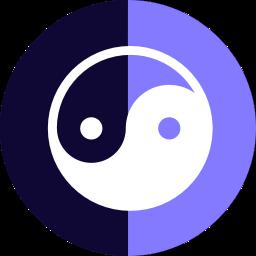 The Bull Bear Bitcoin strategy Set Logo